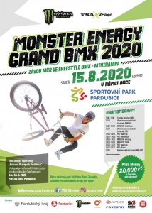 Závod o titul MČR – MONSTER ENERGY GRAND BMX 2020