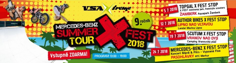 MERCEDES-BENZ SUMMER X FEST TOUR 2018 - REPORT