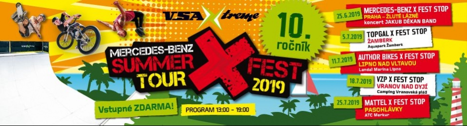 MERCEDES-BENZ SUMMER X FEST TOUR 2019