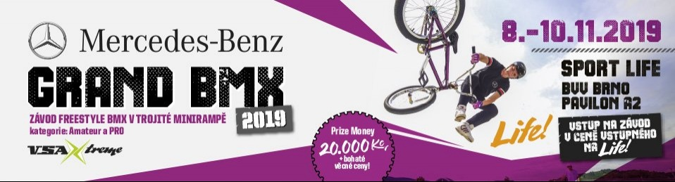 MERCEDES-BENZ GRAND BMX 2019, REPORT
