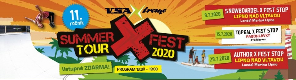 11. ročník SUMMER X FEST TOUR 2020 - report