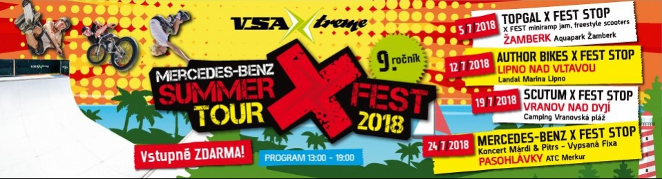 MERCEDES-BENZ SUMMER X FEST TOUR 2018
